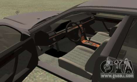 Mercedes-Benz W124 E200 for GTA San Andreas right view