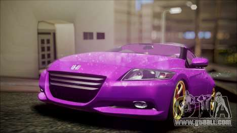 Honda CRZ Hybird Pink Cute for GTA San Andreas