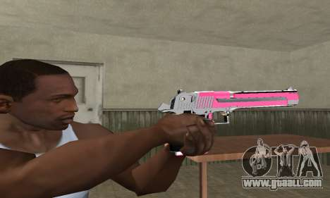 Pink Deagle for GTA San Andreas second screenshot