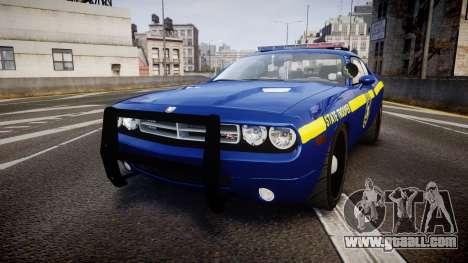 Dodge Challenger NYSP [ELS] for GTA 4