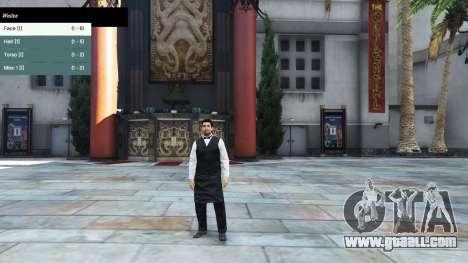 GTA 5 The character menu third screenshot