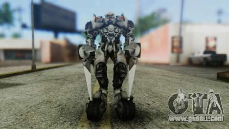 Sideswipe Skin from Transformers v1 for GTA San Andreas second screenshot