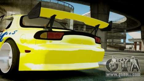 Mazda RX-7 FD3S BN Sports for GTA 4 right view