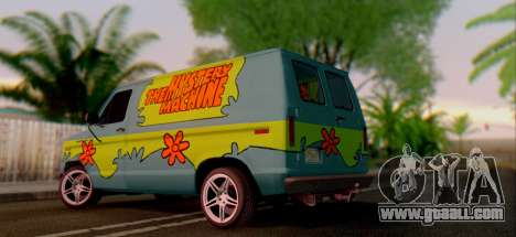 Ford E-150 Scooby Doo for GTA San Andreas right view