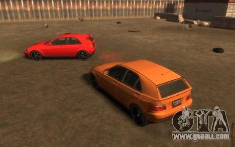 Karin Sultan Hatchback v2 for GTA 4 back view