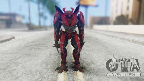 Dino Mirage Skin from Transformers for GTA San Andreas second screenshot