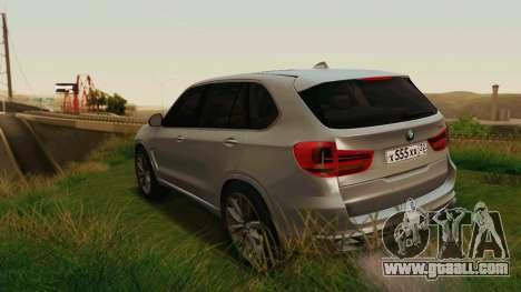 BMW X5 F15 2014 for GTA San Andreas wheels
