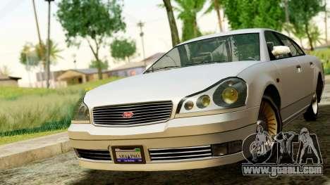 GTA 4 Intruder for GTA San Andreas right view