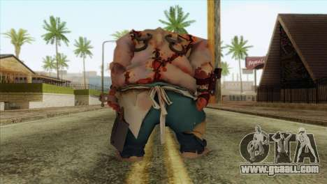 Pudge from DotA 2 for GTA San Andreas second screenshot