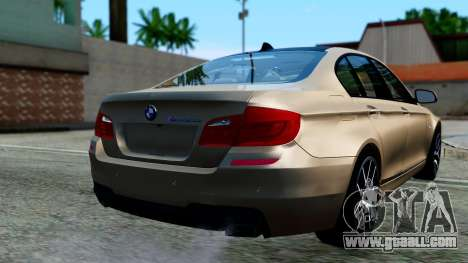 BMW M550d for GTA San Andreas left view