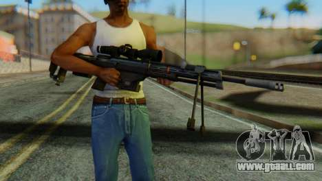 DSR50 Sniper Rifle for GTA San Andreas third screenshot