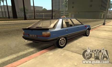 Renault 11 TXE Taxi for GTA San Andreas back left view