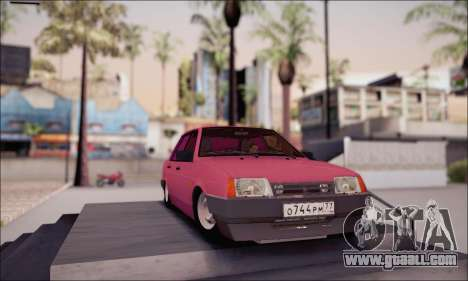 VAZ 21099 for GTA San Andreas back view