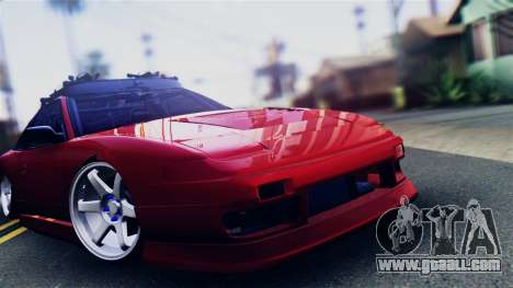Nissan 180SX for GTA San Andreas back left view