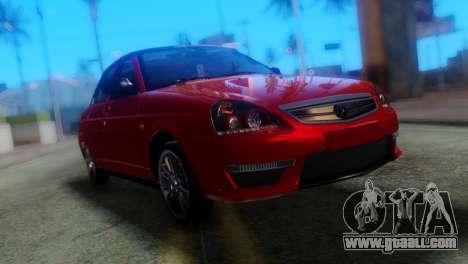 VAZ 2170 AMG for GTA San Andreas