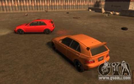 Karin Sultan Hatchback v2 for GTA 4 inner view