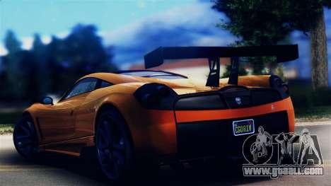 Pegassi Osiris from GTA 5 for GTA San Andreas left view