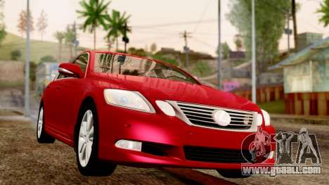 Lexus GS 350 2008 for GTA San Andreas right view