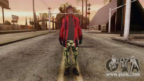 New Homeless Skin for GTA San Andreas