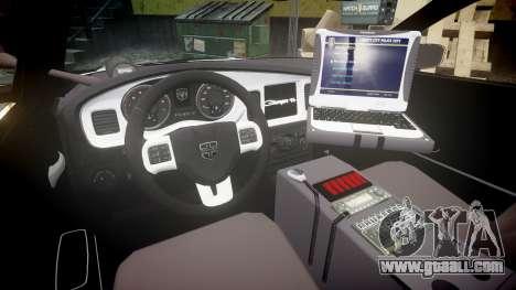 Dodge Charger Alderney Police for GTA 4 back view