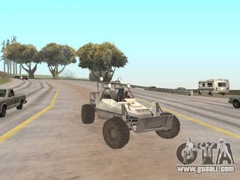 Buggy from Just Cause for GTA San Andreas right view
