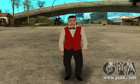 Casino Skin for GTA San Andreas third screenshot