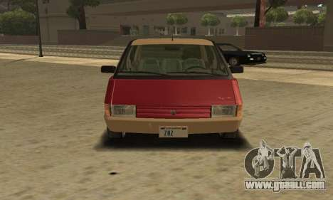 Renault Espace 2000 GTS for GTA San Andreas right view
