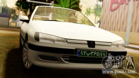 Peugeot 406 for GTA San Andreas right view