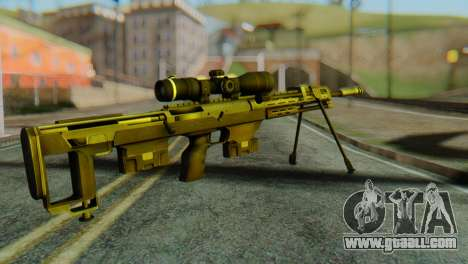 DSR50 Sniper Rifle for GTA San Andreas second screenshot