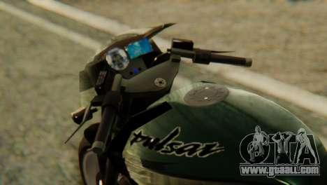 Bajaj Rouser 135 for GTA San Andreas right view