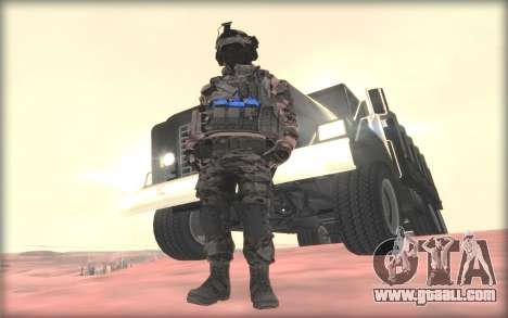 BF3 Soldier for GTA San Andreas