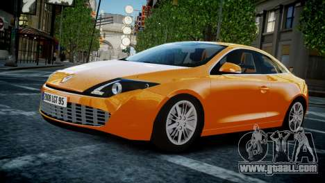 Renault Laguna Coupe for GTA 4 inner view