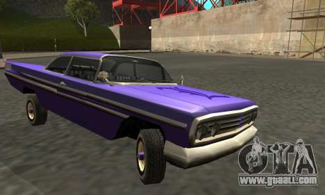 Luni Voodoo Remastered for GTA San Andreas inner view