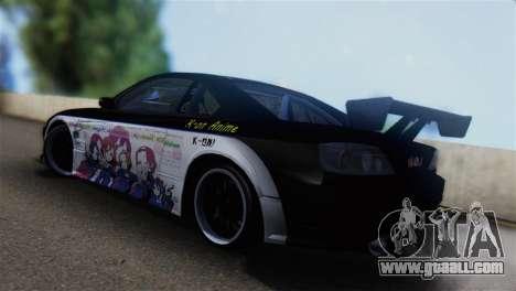 Nissan Silvia S15 K-on Itasha for GTA San Andreas left view