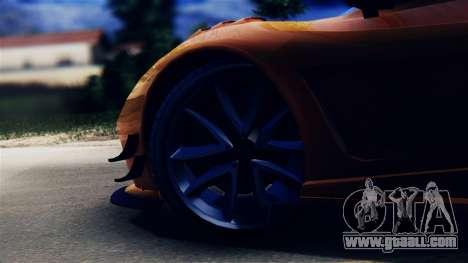Pegassi Osiris from GTA 5 for GTA San Andreas back view