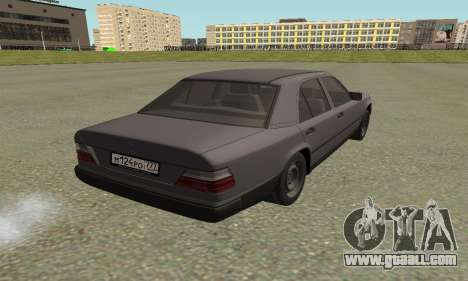 Mercedes-Benz W124 E200 for GTA San Andreas left view