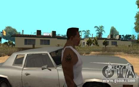 Цепь Monster Energy for GTA San Andreas third screenshot