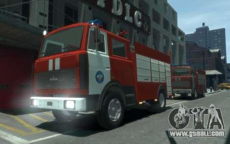 MAZ 533702 of EMERCOM of Russia for GTA 4