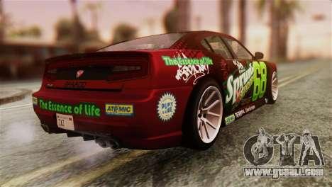 GTA 5 Bravado Buffalo Sprunk HQLM for GTA San Andreas left view