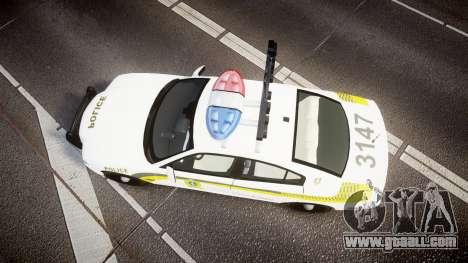 Dodge Charger Surete Du Quebec [ELS] for GTA 4 right view