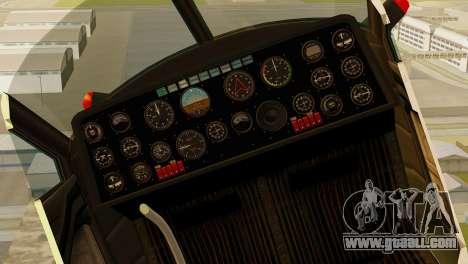 GTA 5 Dodo v1 for GTA San Andreas right view