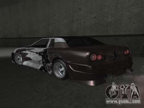Elegy Paintjobs for GTA San Andreas upper view