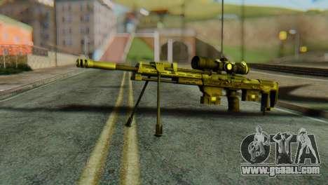 DSR50 Sniper Rifle for GTA San Andreas