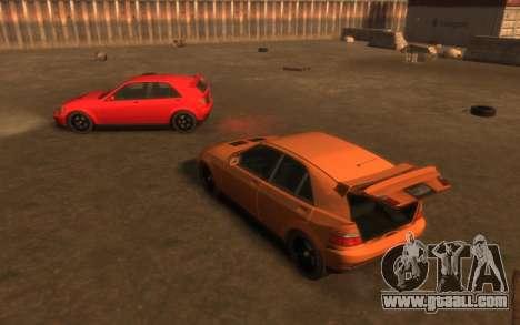 Karin Sultan Hatchback v2 for GTA 4 side view