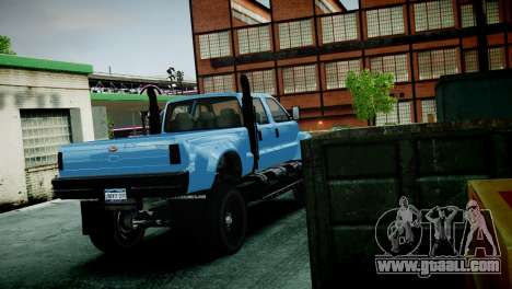 GTA 5 Guardian for GTA 4 back view