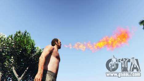 GTA 5 Fire-breathing v2.0