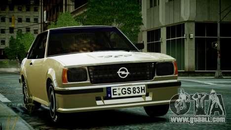 Opel Ascona B for GTA 4