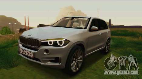 BMW X5 F15 2014 for GTA San Andreas engine