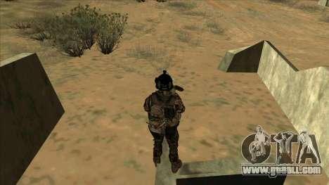 BF3 Soldier for GTA San Andreas sixth screenshot