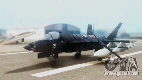 F-35B Polish Air Force 1. ELT for GTA San Andreas